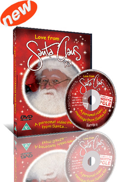 A Personal Message From Santa on DVD